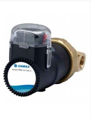 Secondary Circulation Bronze Pump Lowara Ecocirc Pro 15-1 Inc Timer £133.99