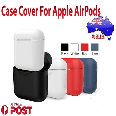 Soft Silicone Protective Shockproof Skin Case Cover For Apple AirPods Earphones