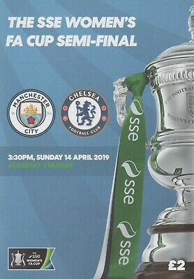 * BOTH 2019 WOMENS FA CUP SEMI-FINALS- MAN CITY v CHELSEA & READING v WEST HAM *