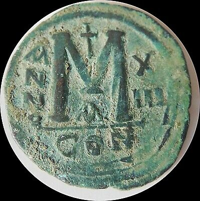 Ancient Byzantine Big Coin  Uncleaned                                        -1
