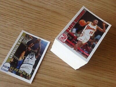 Complete set Hoops 92-3 Series 2 NBA Basketball Trading Cards Inc Shaq Rookie