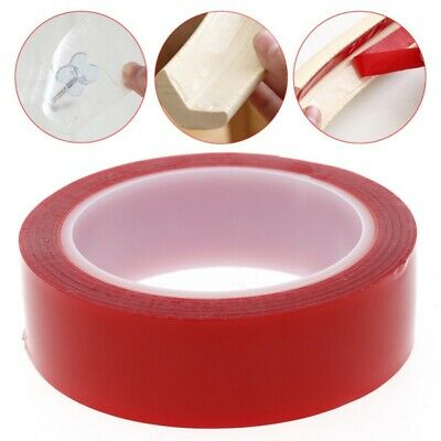 Super Double Sided Sticky Heavy Duty Adhesive Tape Red For Cell Phone Repair US