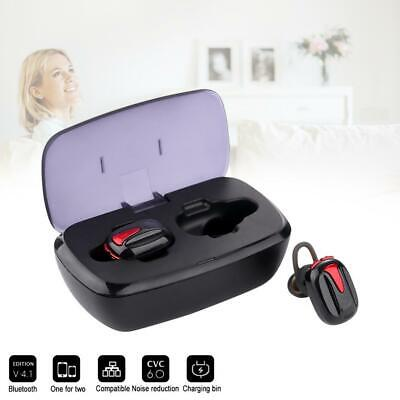 TWS Wireless Bluetooth Earphones Headphones Earbuds for Apple iPhone Android IOS
