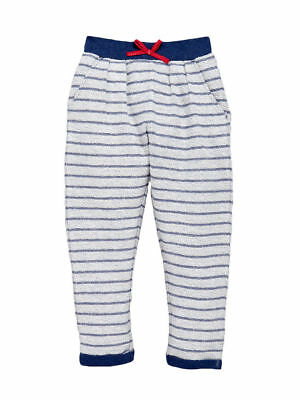 Girls Joggers In Blue, White & Red Size 2-3 3-4 Years Free P&P