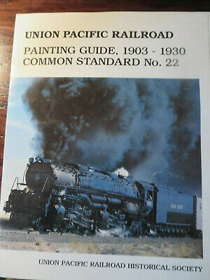 """US Railways - """"Union Pacific Railroad, Painting Guide"""" by Union Pacific Hist Soc"""