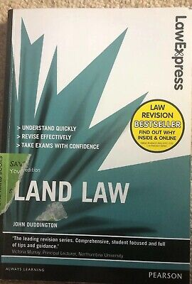 Law Express Revision Guide: Land Law, 5th Edition 2015, by John Duddington