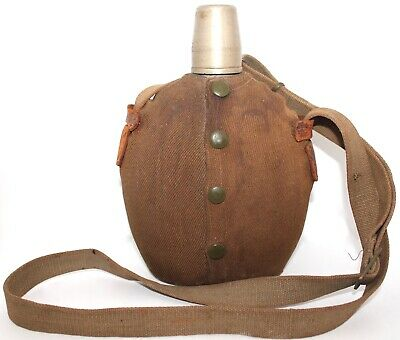 Gourde d'officer armée japonaise WW2 Japanese army officer canteen flask WWII