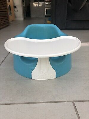 Blue Baby Bumbo With Tray