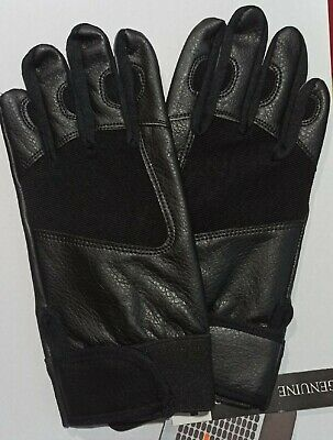 Four Way Leather Gloves  Back Ideal 4 Driving Cycling Riding Shooting Walking