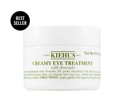 [Kiehl's] Creamy Eye Treatment with Avocado 14g (0.5 fl.oz) 100% Original Box