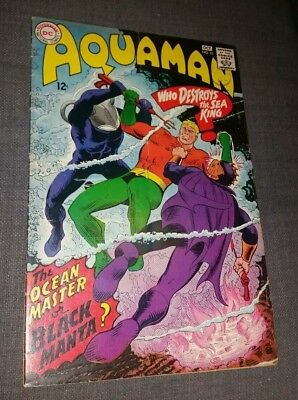 DC Comics 1967 Aquaman #35 1st appearance Black Manta