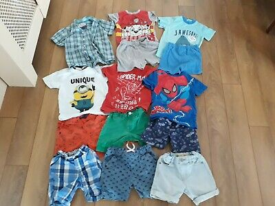 Boys Summer Clothes Bundle age 3-4 years