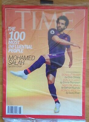 TIME Magazine April 29/ May 6 2019 MOHAMED SALAH Double Issue In Sealed Wrap