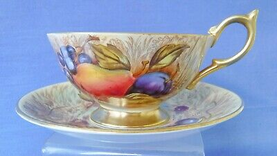 1930's Aynsley Orchard Gold Gilt cup and saucer