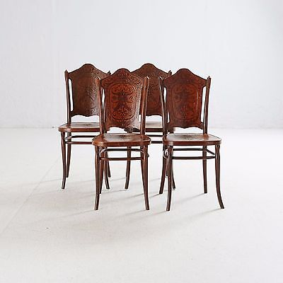 Antique Original Chairs, J&J Kohn, Vienna, Victorian, ca.1890 signed,thonet