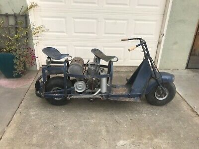 Original US Air Force Cushman Airborne Scooter 53A 53 Paratrooper