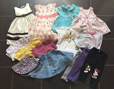 Job Lot Girls clothes 12-18 Months bundle (14 Items) .No1