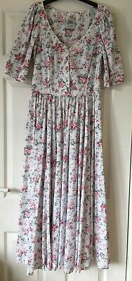 Vintage Laura Ashley Dress 8 Unworn