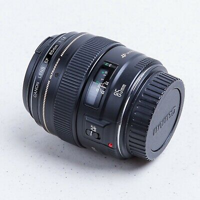 Canon EF 85mm f/1.8 USM Lens - Used, Excellent Condition