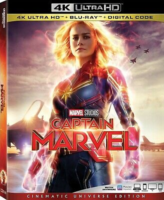 Captain Marvel (4K Ultra HD)(UHD)(Atmos)