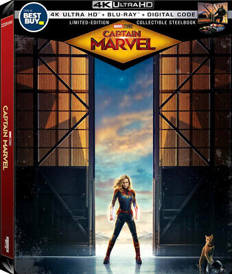 Captain Marvel (SteelBook)(4K Ultra HD)(UHD)(Atmos)