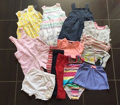 Job Lot Girls clothes 12-18 Months bundle (14 Items) No4