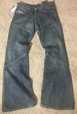 7d06ea40 $149 DIESEL INDUSTRY DAZE Jeans Womens Denim Pants Size 25 Made In ...
