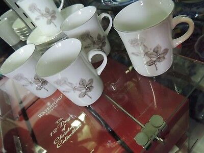 Bavaria China 5 Cups 6 Saucers Beautiful Condition