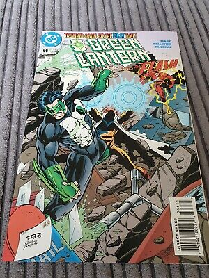GREEN LANTERN - And The Flash #66 1995