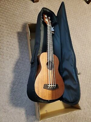 Donner DUB-1 30 inch Electric  Ukulele Bass with Case