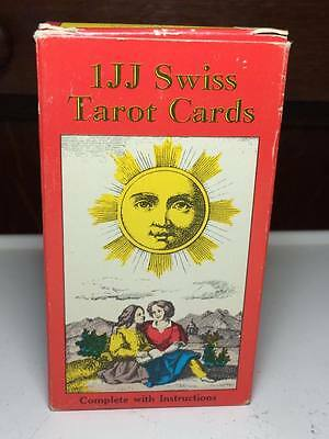 1974 1JJ Swiss Tarot Cards made in Switzerland