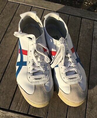 5 Blau 66' Gr40 Tiger 'mexico Onitsuka Rot Weiß Asics Low Sneaker nXON80kwP