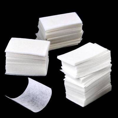 900 x Gel Art Nail Polish Remover Cleaner Cotton Wipes Pad Manicure Paper Lint