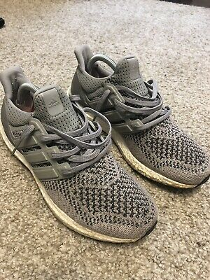 135faa011e33d Adidas Ultra Boost 1.0 Wool Grey Mens Size 8 8.5 Women s 9 GREAT Condition