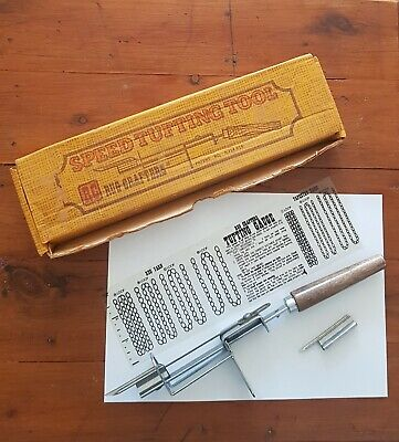 Speed Tufting Tool By Rug Crafters With Box,  Spare Needle & Gauge