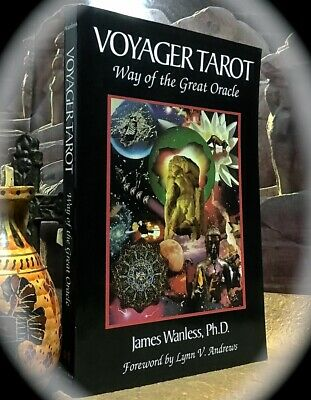 James Wanless: Voyager Tarot Way Of The Great Oracle ~ **Sc Book Only No Cards**