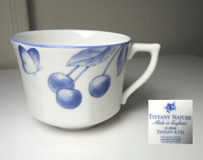 Tiffany & Co TIFFANY NATURE Cherry Tea/Coffee Cup, Mint !