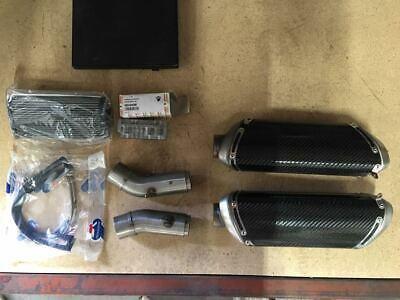 Ducati North America: Carbon Racing Silencer Kit - SBK