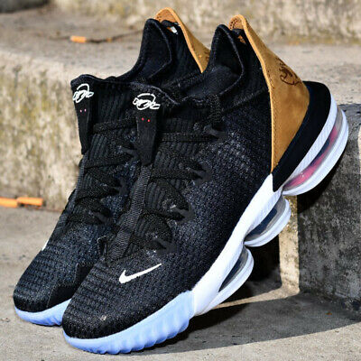 52d1e741d49 Nike Lebron 16 XVI Low Soundtrack CI2668-001 Black Wheat Men Basketball  Shoes
