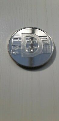 "2019 Uncirculated Alphabet 10P Coin Letter "" D"" In A Bag."