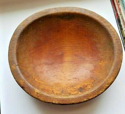 Vintage Munising Wooden Wood Bowl 6 1/2 in