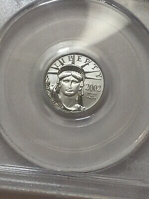 2002 Statue of Liberty $10 Platinum PCGS MS69 Best Buy On E B A Y LOOK!