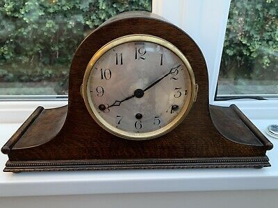 Westminster Chime Napoleon Hat Antique Clock