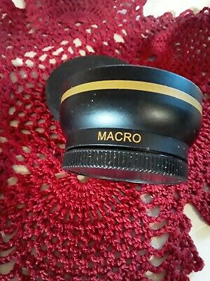MACRO Lens XIT pro series 0.43x High Definition AF Wide Angle Lens 52mm