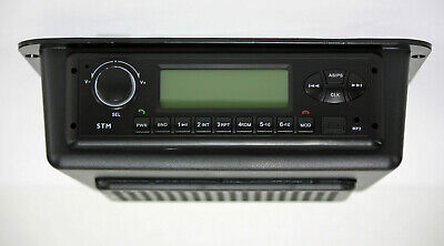 24 volt radio Universal Self contained  AM/FM/WB/USB/Aux In/Bluetooth