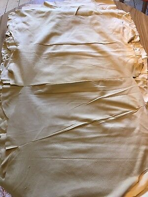 Extra Large, Genuine Chamois Leathers, stitched 4 pieces to make 5-6 sqft