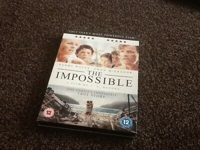 The Impossible (DVD, 2013) - As New