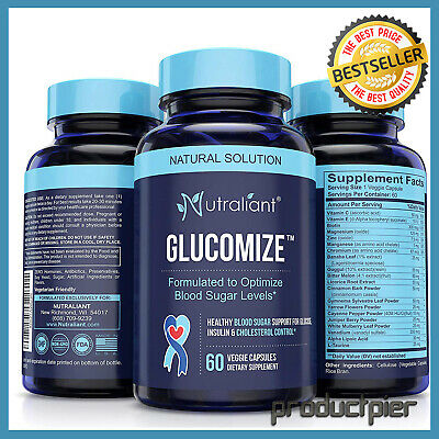 #1 Blood Sugar Supplement Lower Glucose Insulin Control Blood Sugar Stabilizer