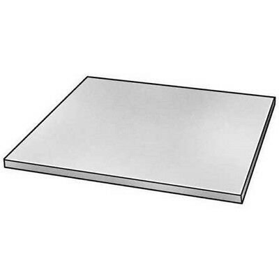 "Stainless Steel Plate Stock  6"" x 6"" x 1/4"" Thick  Unpolished  304/304L Sheet"