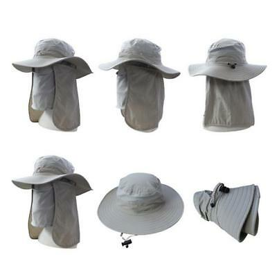 Unisex Brim Boonie Hat Outdoor Fishing Sun Cap Climbing Bucket Hat LI